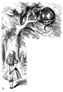 Alice and Chesire Cat